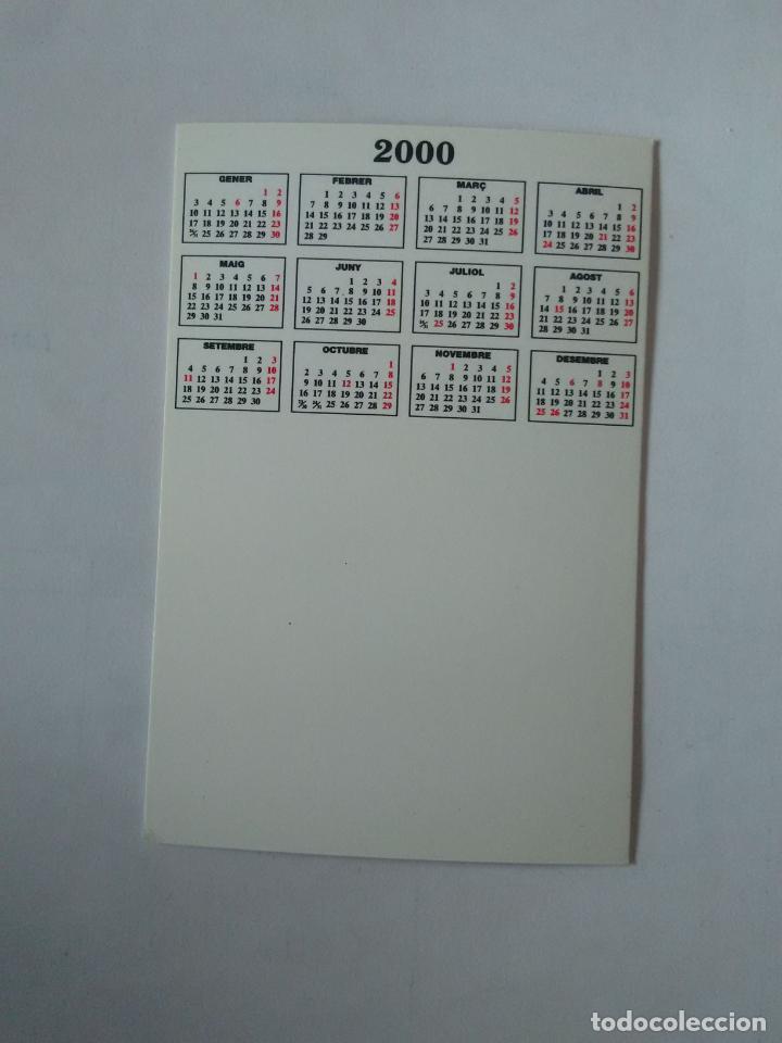Coleccionismo deportivo: CALENDARIO DE BOLSILLO F.C. BARCELONA 99-00, BARÇA 1999-2000, AÑO 2000: RUUD HESP - Foto 2 - 140622726