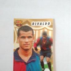 Coleccionismo deportivo: CALENDARIO DE BOLSILLO F.C. BARCELONA 99-00, BARÇA 1999-2000 AÑO 2000: RIVALDO. Lote 140624414