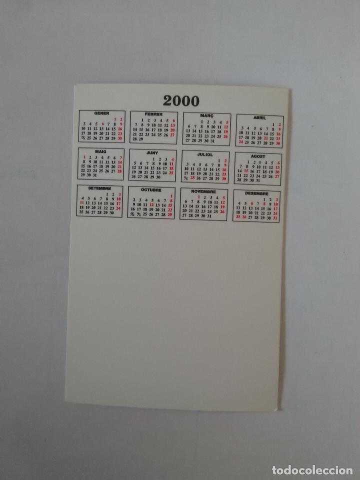 Coleccionismo deportivo: CALENDARIO DE BOLSILLO F.C. BARCELONA 99-00, BARÇA 1999-2000 AÑO 2000: RIVALDO - Foto 2 - 140624414