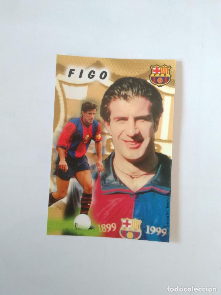 CALENDARIO DE BOLSILLO F.C. BARCELONA 99-00, BARÇA 1999-2000 AÑO 2000: LUIS FIGO (Coleccionismo Deportivo - Documentos de Deportes - Calendarios)