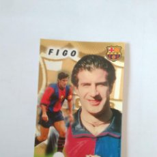 Coleccionismo deportivo: CALENDARIO DE BOLSILLO F.C. BARCELONA 99-00, BARÇA 1999-2000 AÑO 2000: LUIS FIGO. Lote 140626858