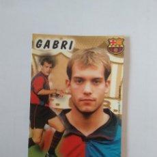 Coleccionismo deportivo: CALENDARIO DE BOLSILLO F.C. BARCELONA 99-00, BARÇA 1999-2000 AÑO 2000: GABRI. Lote 140627250