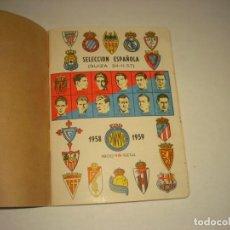 Coleccionismo deportivo: ANUARIO DINAMICO , SELECCION ESPAÑOLA 1958-1959. Lote 141562402