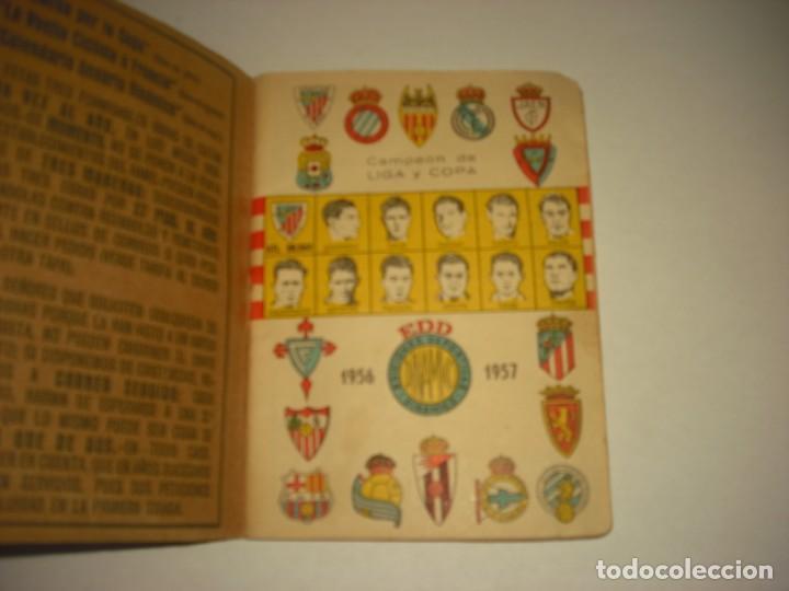 ANUARIO DINAMICO 1956-1957 . CAMPEON DE LIGA Y COPA. (Coleccionismo Deportivo - Documentos de Deportes - Calendarios)