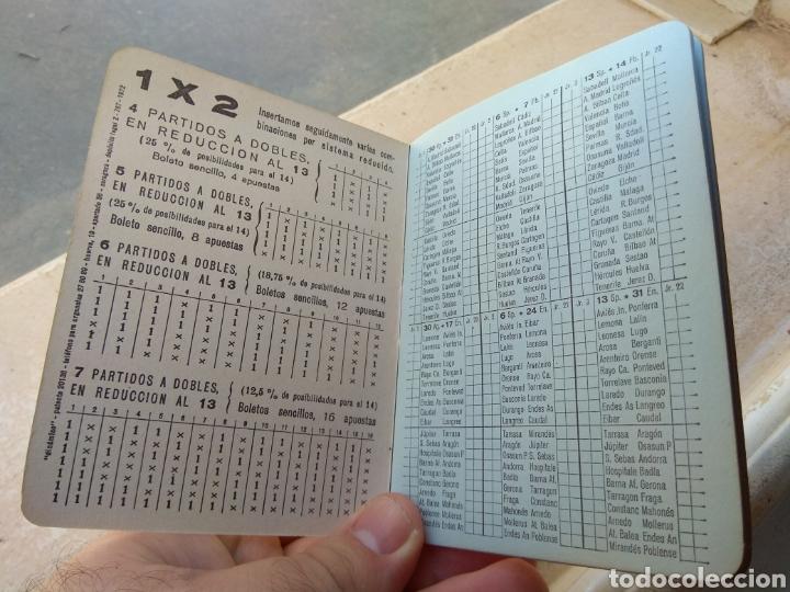 Coleccionismo deportivo: Calendario Fútbol Liga 1987 - 1988 Cerveza San Miguel - Alboraya Valencia - Raro - - Foto 4 - 141789572