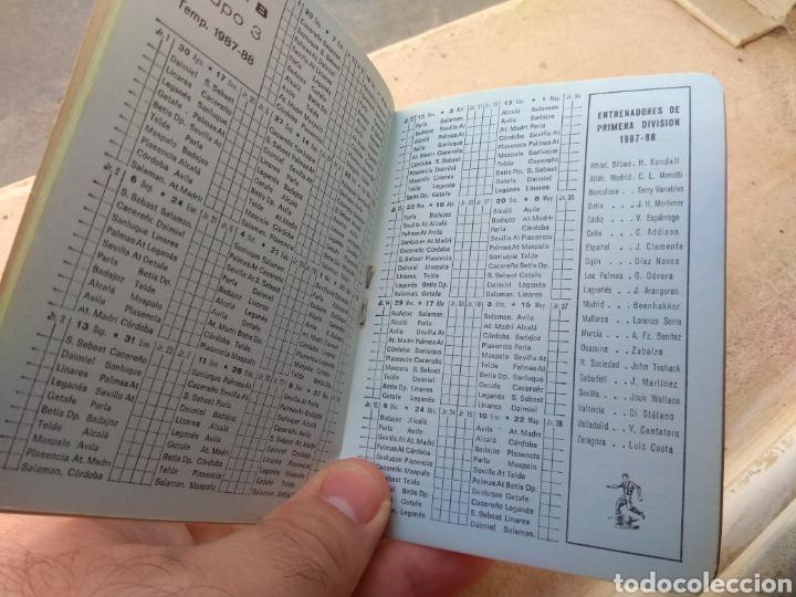 Coleccionismo deportivo: Calendario Fútbol Liga 1987 - 1988 Cerveza San Miguel - Alboraya Valencia - Raro - - Foto 5 - 141789572