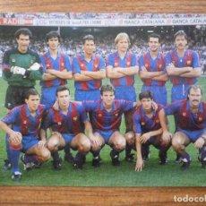 Coleccionismo deportivo: CALENDARIO BOLSILLO ARXE ALINEACION FUTBOL CLUB BARCELONA 88 - BARÇA LIGA 1988. Lote 142890258