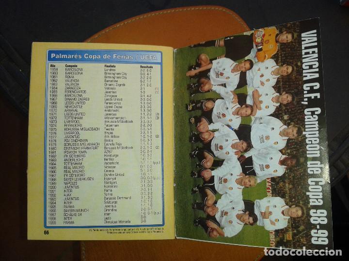 Coleccionismo deportivo: CALENDARIO FUTBOL. TEMPORADA 99/2000. DON BALON - Foto 4 - 143105446