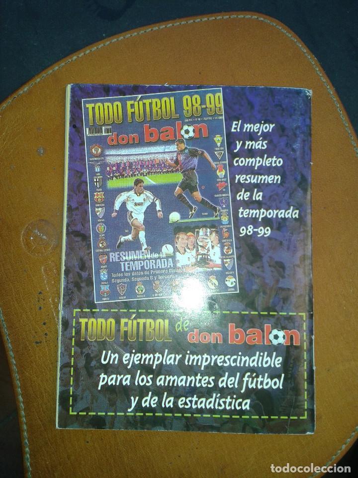 Coleccionismo deportivo: CALENDARIO FUTBOL. TEMPORADA 99/2000. DON BALON - Foto 5 - 143105446