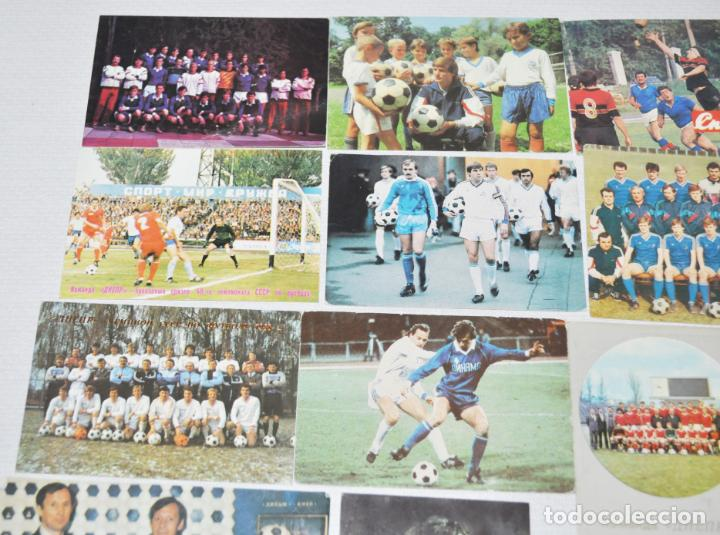 Coleccionismo deportivo: Lote 12 calendarios de bolsillo . Futbol sovietico.1987-91a.URSS - Foto 2 - 143392978
