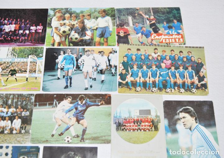 Coleccionismo deportivo: Lote 12 calendarios de bolsillo . Futbol sovietico.1987-91a.URSS - Foto 3 - 143392978
