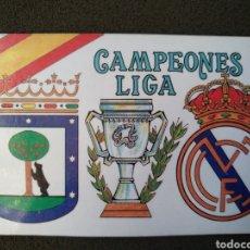 Coleccionismo deportivo: CALENDARIO DEL MADRID CAMPEÓN DE LIGA. Lote 143692824