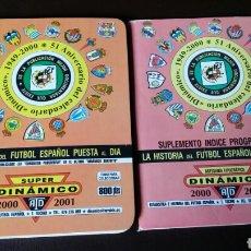 Coleccionismo deportivo: CALENDARIO FÚTBOL DINÁMICO. Lote 145392266
