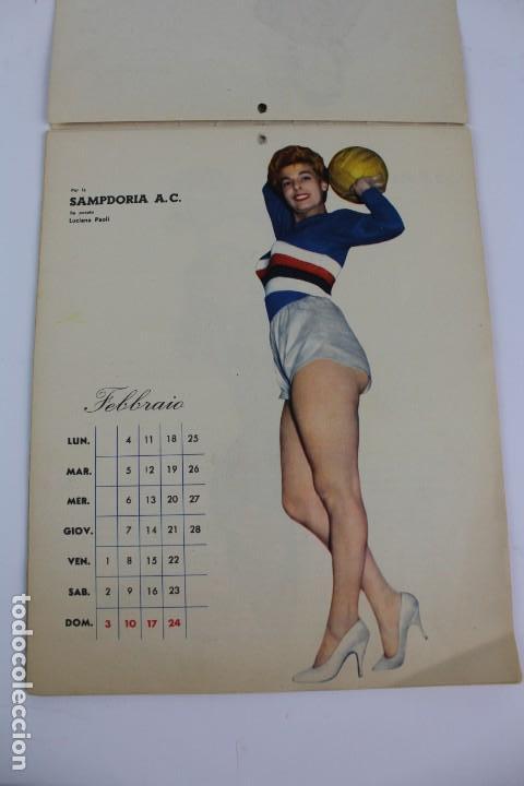 Coleccionismo deportivo: PR- 253. CALCIO CALENDARIO DI MASCOTTE ANNO 1957. ROMA. - Foto 2 - 146117090