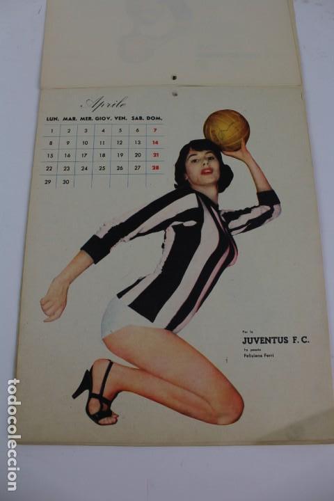 Coleccionismo deportivo: PR- 253. CALCIO CALENDARIO DI MASCOTTE ANNO 1957. ROMA. - Foto 3 - 146117090