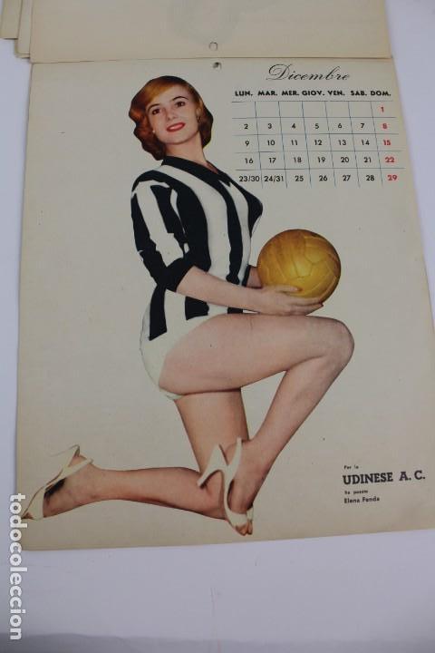 Coleccionismo deportivo: PR- 253. CALCIO CALENDARIO DI MASCOTTE ANNO 1957. ROMA. - Foto 5 - 146117090