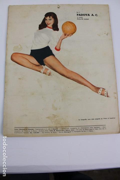 Coleccionismo deportivo: PR- 253. CALCIO CALENDARIO DI MASCOTTE ANNO 1957. ROMA. - Foto 6 - 146117090