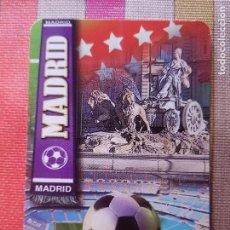 Coleccionismo deportivo: CALENDARIO REAL MADRID-CIBELES 2014. Lote 146724098