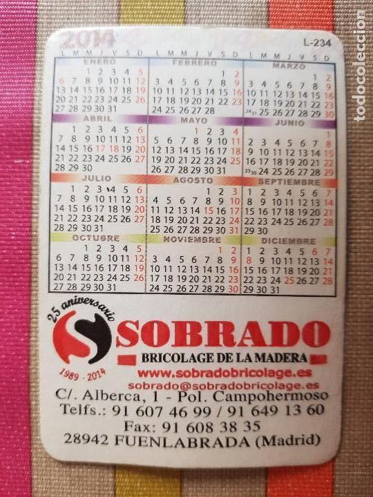 Coleccionismo deportivo: Calendario Atletico de Madrid-Neptuno 2014 - Foto 2 - 146724238