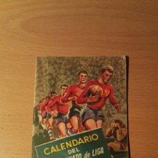 Coleccionismo deportivo: CALENDARIO FUTBOL 1960 - 61. Lote 146769765
