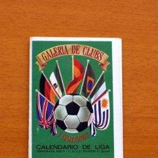 Coleccionismo deportivo: CALENDARIO DE LIGA 1970-1971, 70-71 - GALERIA DE CLUBS - AUTO QUER, S.A. -VER FOTOS ADICIONALES. Lote 147317426