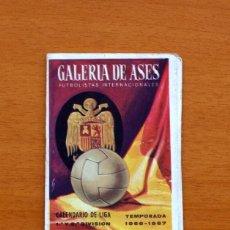 Coleccionismo deportivo: CALENDARIO DE LIGA 1966-1967, 66-67 - GALERIA DE ASES -BICARBONATO TORRES MUÑOZ, VER FOTOS ADICIONAL. Lote 147319486