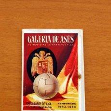 Coleccionismo deportivo: CALENDARIO DE LIGA 1964-1965, 64-65 - GALERIA DE ASES - AUTO ESCUELA PALMA -VER FOTOS ADICIONALES. Lote 147335434
