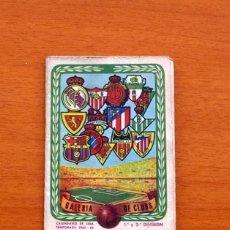 Coleccionismo deportivo: CALENDARIO DE LIGA 1965-1966, 65-66 - GALERIA DE CLUBS - AUTO ESCUELA JUCAR - VER FOTOS ADICIONALES. Lote 147335774
