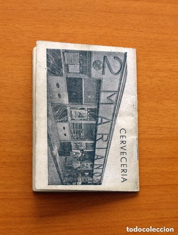 Coleccionismo deportivo: Calendario de Liga 1957-1958, 57-58 - Bar Casa Mariano - Madrid - Foto 7 - 147337870