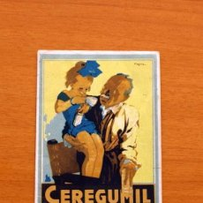 Coleccionismo deportivo: CEREGUMIL - FÚTBOL - CALENDARIO DE LIGA 1951-1952, 51-52 DE SEGUNDA DIVISIÓN 2º GRUPO. Lote 147338554