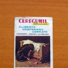 Coleccionismo deportivo: CEREGUMIL - FÚTBOL - CALENDARIO DE LIGA 1956-1957, 56-57 DE PRIMERA DIVISIÓN. Lote 147338986