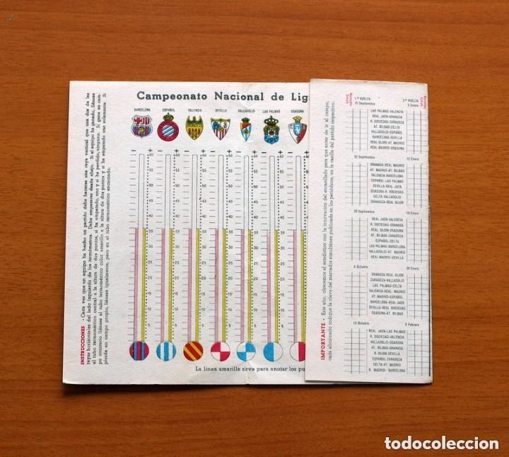 Coleccionismo deportivo: Ceregumil - FUTBOL - Calendario de liga 1957-1958, 57-58 de primera división - Foto 2 - 147339206
