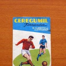 Coleccionismo deportivo: CEREGUMIL - FUTBOL - CALENDARIO DE LIGA 1959-1960, 59-60 DE PRIMERA DIVISIÓN. Lote 147339730
