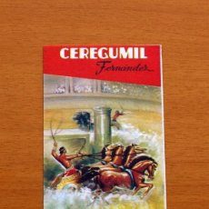 Coleccionismo deportivo: CEREGUMIL - FUTBOL - CALENDARIO DE LIGA 1960-1961, 60-61 DE PRIMERA DIVISIÓN. Lote 147339954