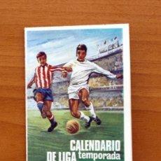 Coleccionismo deportivo: CALENDARIO DE LIGA 1975-1976, 75-76 - PUBLICIDAD LA CASA DEL FUMADOR - MADRID. Lote 147359162