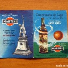 Coleccionismo deportivo: CALENDARIO DE LIGA 1956-1957, 56-57 - VERMUT MARTINI ROSSI. Lote 147456090