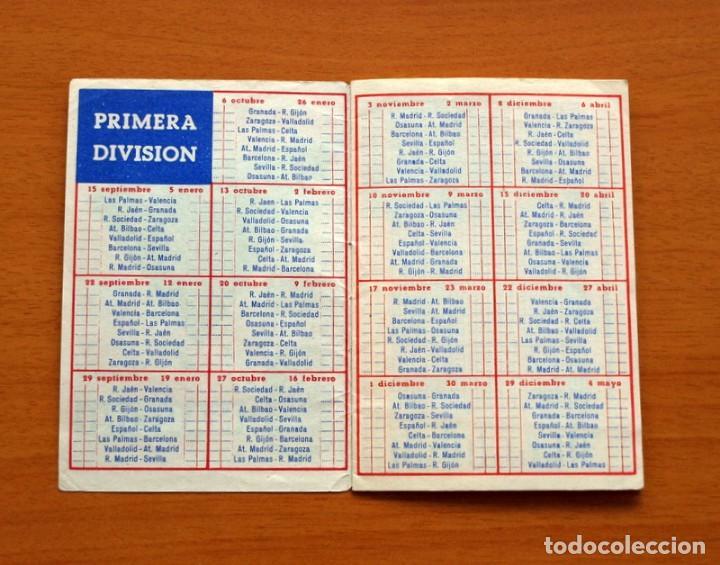 Coleccionismo deportivo: Calendario de liga 1957-1958, 57-58 - Vermut Martini Rossi - Foto 3 - 147456346