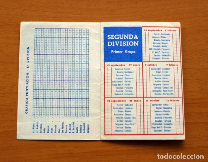 Coleccionismo deportivo: Calendario de liga 1957-1958, 57-58 - Vermut Martini Rossi - Foto 4 - 147456346