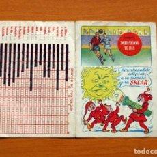 Coleccionismo deportivo: CALENDARIO DE LIGA 1953-1954, 53-54 - PILA SKLAR. Lote 147457062
