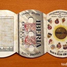 Coleccionismo deportivo: CALENDARIO DE LIGA 1944-1945, 44-45 - HOJAS DE AFEITAR IBERIA. Lote 147457738