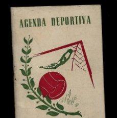 Coleccionismo deportivo: AGENDA DEPORTIVA - CALENDARIO DE FUTBOL - LIGA 1ª Y 2ª - LIGA 1945-46. Lote 147728106