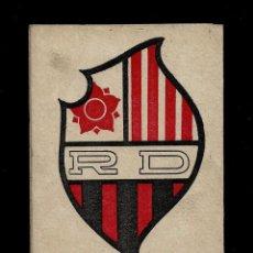 Coleccionismo deportivo: REUS DEPORTIVO-TORNEO DE CLASIFICACION PARA EL ASCENSO A PRIMERA CATEGORIA REGIONAL GRUPO A-1941-42. Lote 147738034