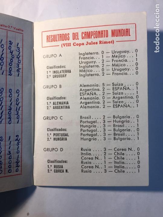 Coleccionismo deportivo: Calendario Nacional de Liga,(1966/1967). - Foto 3 - 147775984