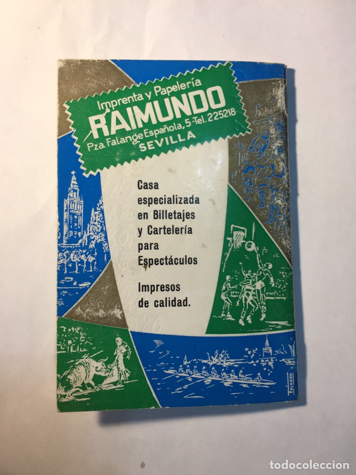 Coleccionismo deportivo: Calendario Nacional de Liga,(1966/1967). - Foto 4 - 147775984