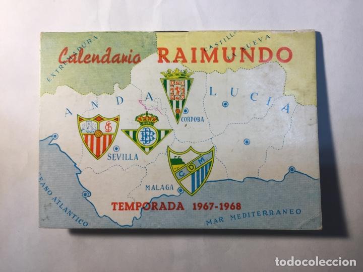 CALENDARIO NACIONAL DE LIGA,(1967/1968). (Coleccionismo Deportivo - Documentos de Deportes - Calendarios)