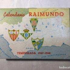 Coleccionismo deportivo: CALENDARIO NACIONAL DE LIGA,(1967/1968).. Lote 147777637