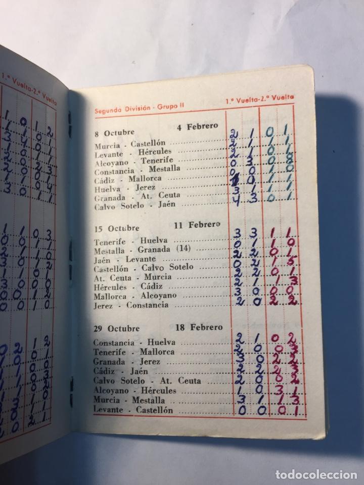 Coleccionismo deportivo: Calendario Nacional de Liga,(1967/1968). - Foto 4 - 147777637