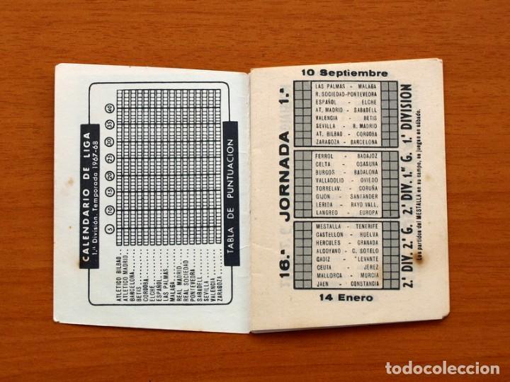 Coleccionismo deportivo: Calendario de Liga 1967-1968, 67-68 - Cigarrillos RUMBO - Foto 3 - 148053126