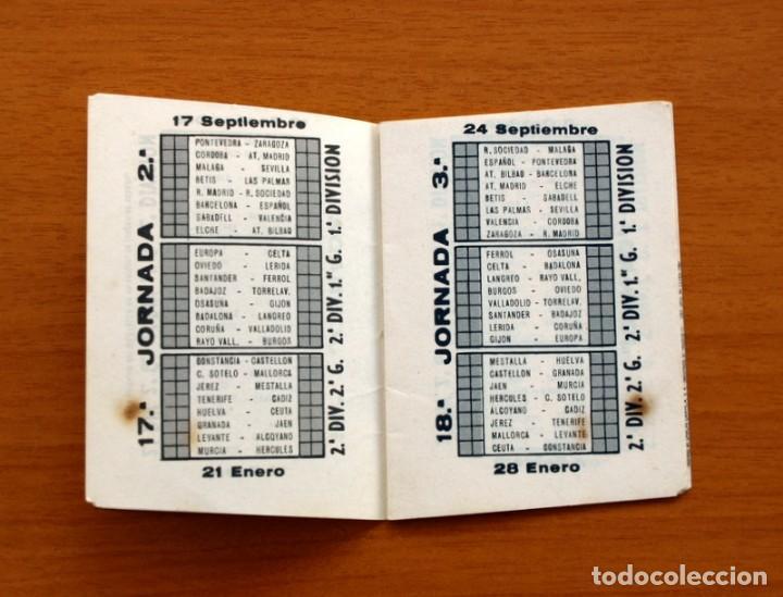Coleccionismo deportivo: Calendario de Liga 1967-1968, 67-68 - Cigarrillos RUMBO - Foto 4 - 148053126