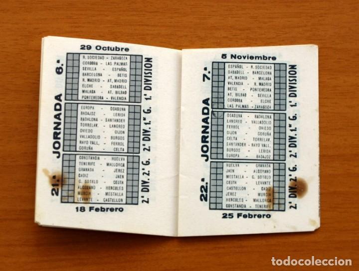 Coleccionismo deportivo: Calendario de Liga 1967-1968, 67-68 - Cigarrillos RUMBO - Foto 5 - 148053126